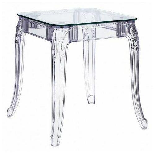 Producent: elior Transparentny stół kwadratowy - immel