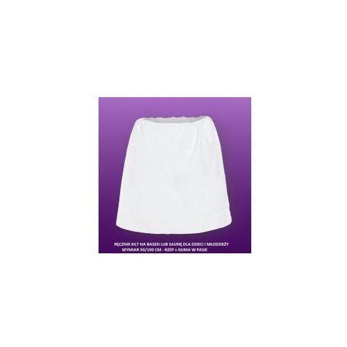 Sauna kilt ręcznik bawełna dziecięco-młodzieżowy 50/100cm marki Produkcja własna