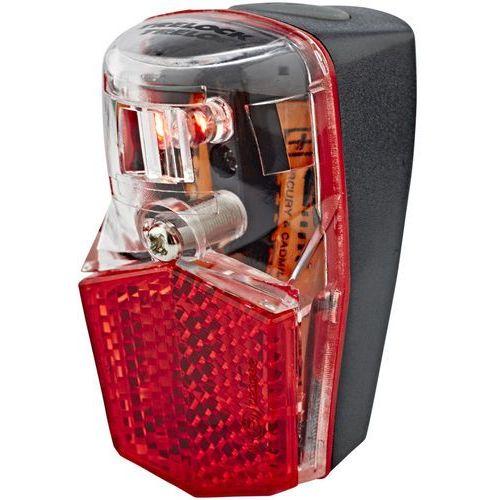 Trelock ls 640 duo oświetlenie czerwony/czarny 2018 oświetlenie rowerowe - zestawy