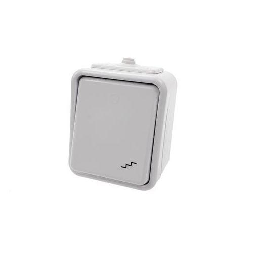 Łącznik schodowy natynkowy IP44 WNT-600C biały Cedar Schneider Electric (5904093006404)