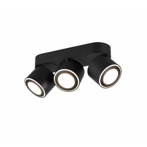 Trio Taurus 652910332 plafon lampa sufitowa 3x3,5W+3x1,5W LED czarny, kolor Czarny