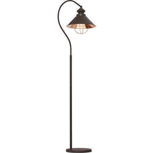 Nowodvorski Lampa podłogowa loft i 5061 metalowa 1x60w e27 chocolate (5903139506199)