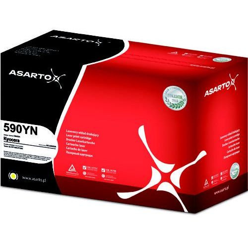 Toner Asarto zamiennik do Kyocera TK590 I M6026/FS-C2026/FS-C2126 | yellow new, PO-AS-LK590YN