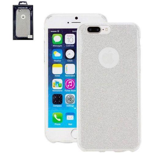 Pokrowiec na tył iphone  4260481642557, pasuje do modelu telefonu: apple iphone 7 plus, srebrny marki Perlecom