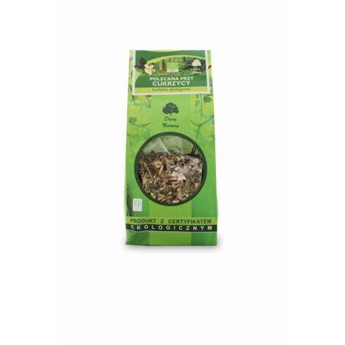 Dary natury - herbatki bio Herbatka polecana przy cukrzycy bio 150 g - dary natury (5902741007940)