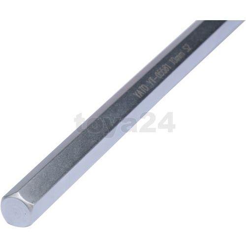 Klucz trzpieniowy hex z rękojeścią 7mm / YT-05578 / YATO - ZYSKAJ RABAT 30 ZŁ