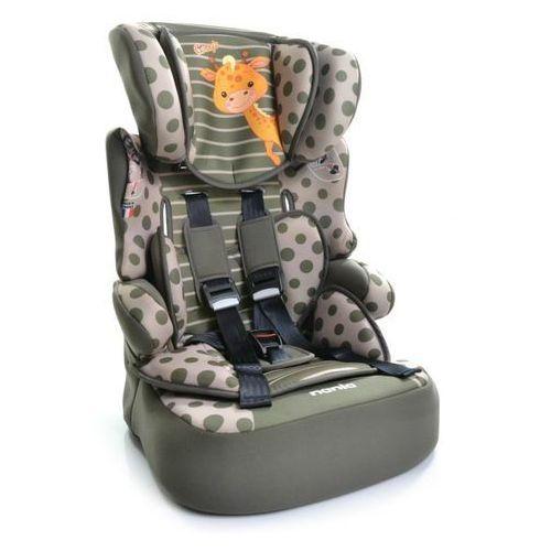 Fotelik samochodowy 9-36 kg  beline sp animals giraffe marki Nania