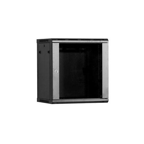 Linkbasic Szafa wisząca 19 12U 450mm drzwi szklane (5902002054799)