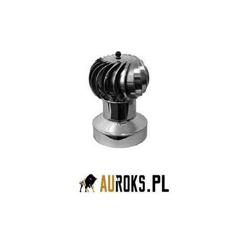 Turbowent bez podstawy z kołnierzem zamykającym ocieplenie nieotwierana turbina aluminiowa dolot bl. chromoniklowa fi 200 marki Darco