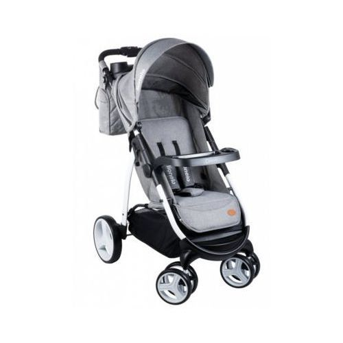 Lionelo  wózek spacerowy elise grey - darmowa dostawa!!! (5902581651709)