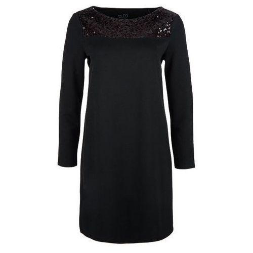 s.Oliver sukienka damska 42 czarny, kolor czarny