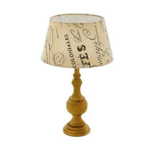 Eglo 43244 - lampa stołowa thornhill 1xe14/40w/230v