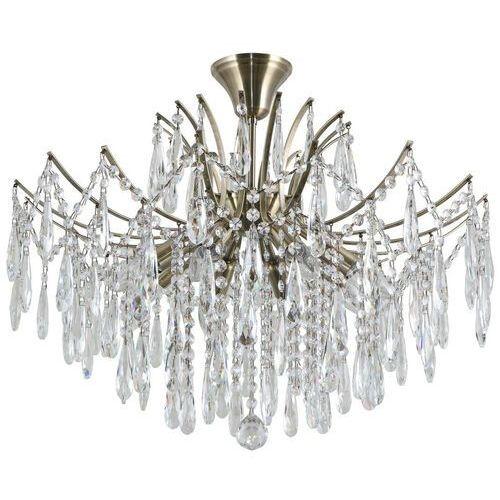 mallola pnd-56808-8 lampa wisząca zwis 2x40w e14 brąz antyczny marki Italux