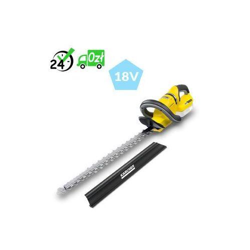 Hge 18-50 battery nożyce do żywopłotu +ładowarka +aku 5ah doradztwo => 794037600, gwarancja 2 lata, dostawa od ręki! marki Karcher