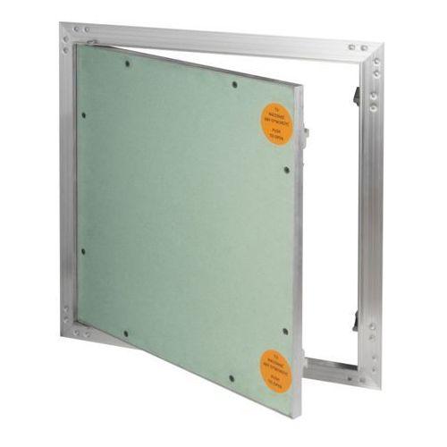 Klapa rewizyjna aluminiowa Diall z płytą g-k 30 x 30 cm