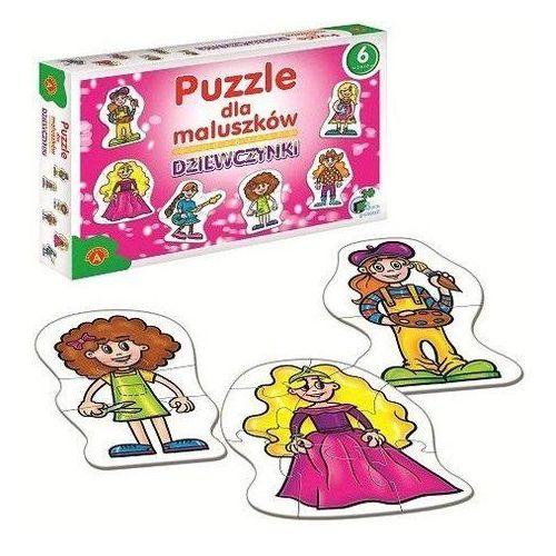 Dziewczynki Puzzle dla maluszków