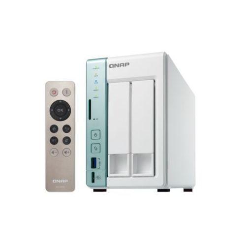 Serwer NAS QNAP TS-251A-2G, Intel Celeron N3060 Dual Core 1.6GHz, turbo 2.48GHz, RAM 2GB DDR3L (2x1GB; Max. 8GB)