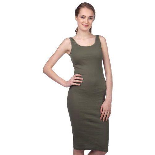Brave Soul sukienka damska Ribbypka1 M khaki (2007070180074)