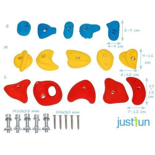 Kamienie do wspinaczki s - jednokolorowe - niebieski marki Just fun