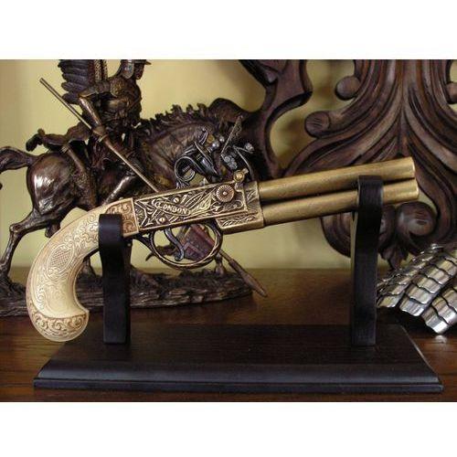 Hiszpania Skałkowy angielski pistolet z xviii w (k1114-l)