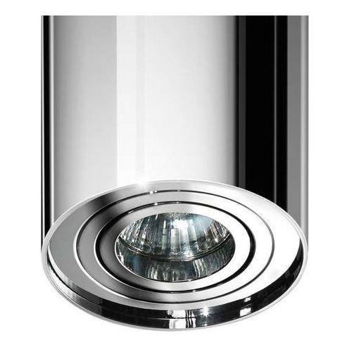 Azzardo Spot lampa sufitowa bross gm4100 ch  natynkowa oprawa metalowa downlight tuba chrom, kategoria: lampy sufitowe