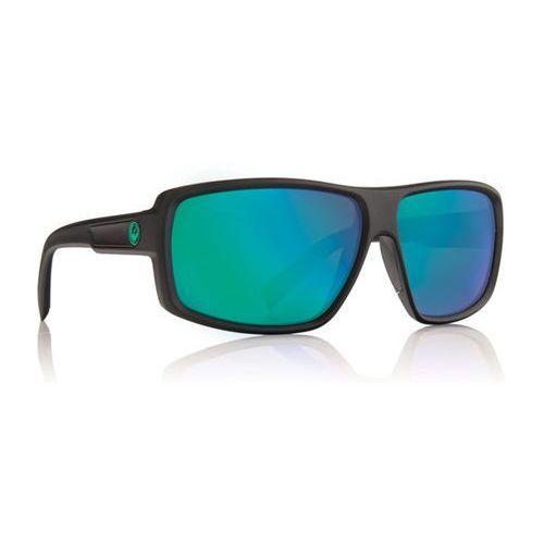 okulary słoneczne DRAGON - Double Dos Polar 1 Matte H20/Green Ion P2 (045), kolor zielony