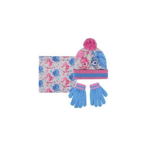 Shimmer Komplet czapka szalik rękawiczki 3x35bf