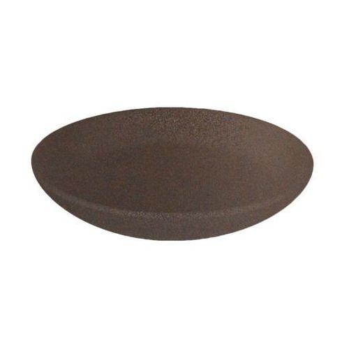 Podstawka ceramiczna 11 cm brązowa marki Ceramik