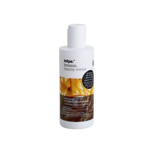 Tołpa botanic black oats szampon odbudowujący włosy do wzmocnienia włosów (hypoallergenic) 200 ml
