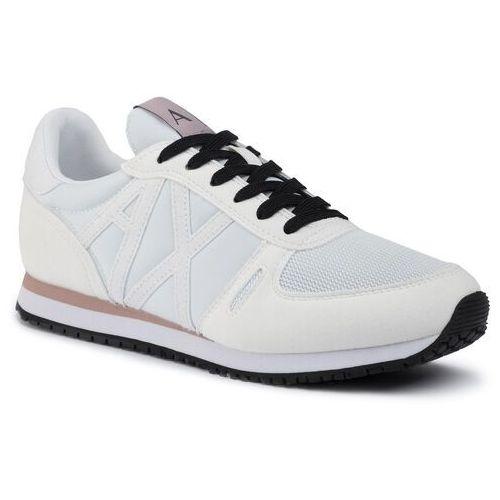 Armani exchange Sneakersy - xdx031 xv308 a222 opt white/white