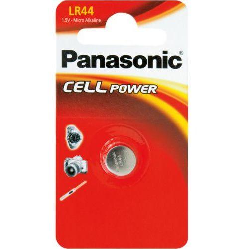 PANASONIC BATERIA ALKALICZNA LR44 - 1 szt blister (5019068083035)