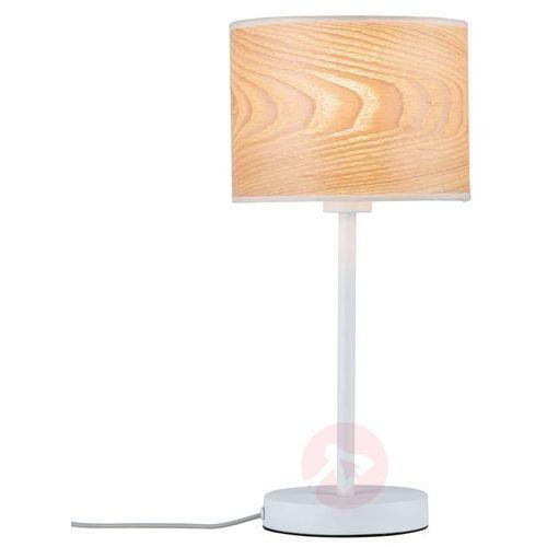 Paulmann Naturalny produkt - drewniana lampa stołowa neta (4000870796382)