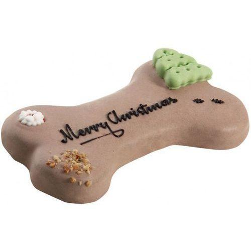 """Lolo pets tort dla psa """"merry christmas"""" orzechowo - czekoladowy - darmowa dostawa od 95 zł! (5904479755131)"""