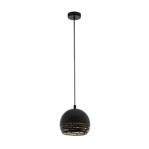 Eglo Camastra 98071 lampa wisząca zwis oprawa 1x40W E27 czarna/złota