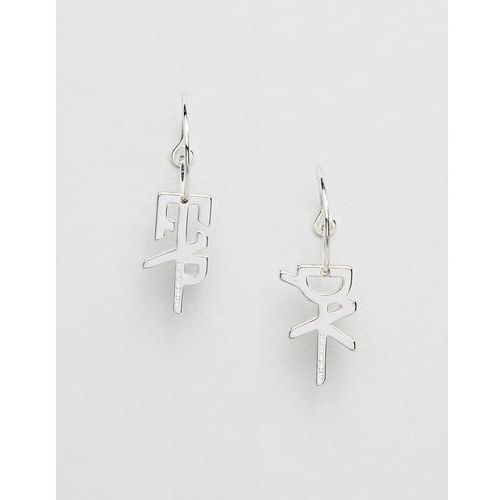 Cheap monday tiny hacker earring - silver