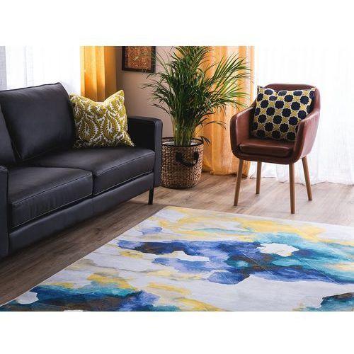 Dywan kolorowy 160 x 230 cm krótkowłosy ceyhan marki Beliani