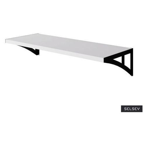 Selsey półka satare 60 cm biała (5903025962863)