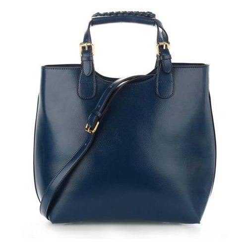 Torebka damska Shopper Bag Hit! granatowa - granatowy (5057874005629)