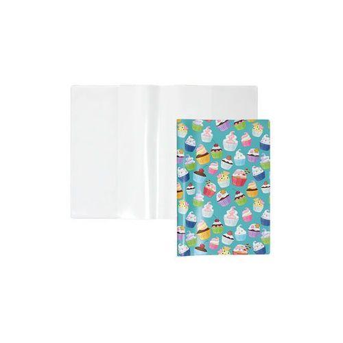 Okładka A5 na zeszyt książkę książeczkę zdrowia - muffiny (5907214104799)