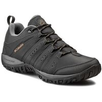 Trekkingi COLUMBIA - Woodburn II BM3924 Black/Caramel 010, kolor czarny