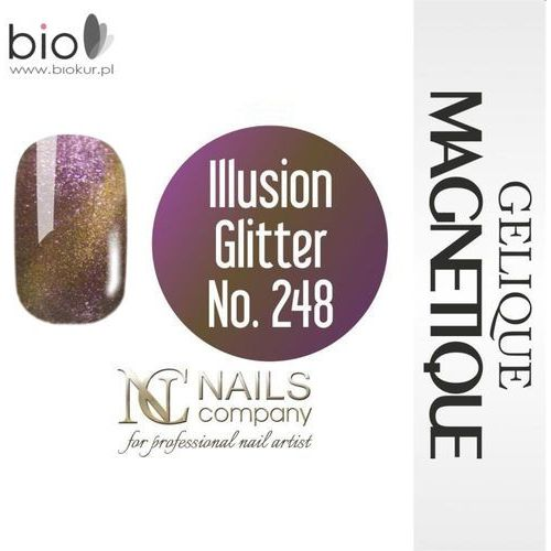 GELIQUE MAGNETIQUE - Illusion Glitter No. 248 - 6 ml