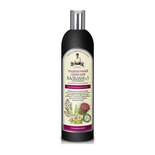 Babuszka Agafia Tradycyjny Balsam syberyjski do włosów nr 3 - Propolis łopianowy 600ml (4744183013483)