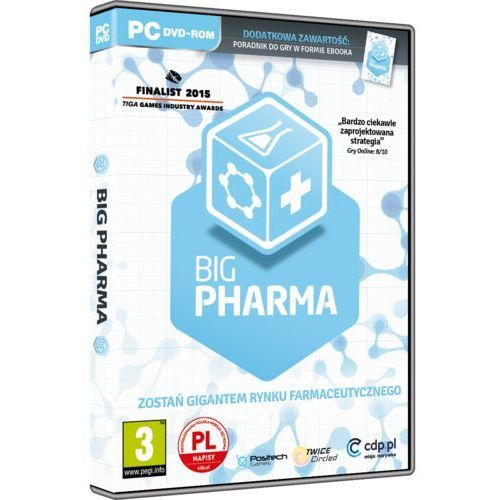 Big Pharma (PC). Najniższe ceny, najlepsze promocje w sklepach, opinie.