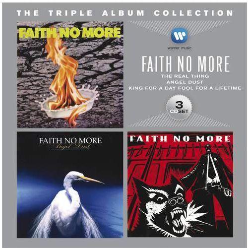 Triple album collection (ecopack) - faith no more (płyta cd) marki Warner music / warner music uk