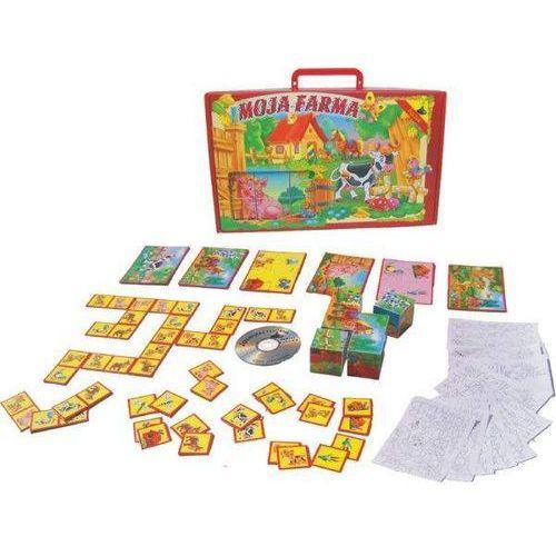 Tupiko Moja farma: układanki obrazkowe z płytą cd