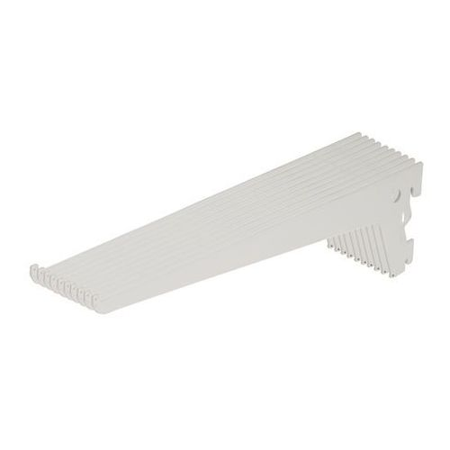 Wspornik pojedynczy Form Lony 40 cm biały 10 szt., 33433PHB