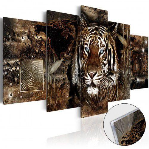 Obraz na szkle akrylowym - strażnik dżungli [glass] marki Artgeist