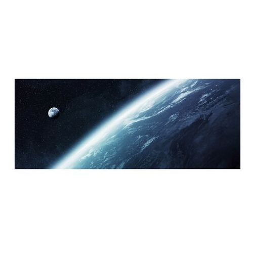 Obraz Glasspik Blue Halo 50 x 125 cm