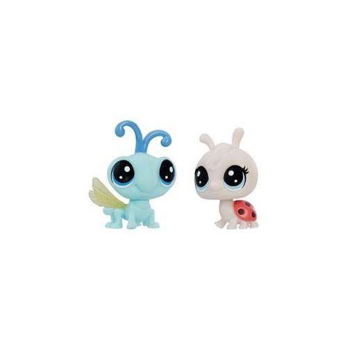 Dwupak figurek Littlest Pet Shop Hasbro (Ladybug Dragonfly)