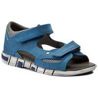 Sandały KORNECKI - 03988 W/Niebie/S, kolor niebieski